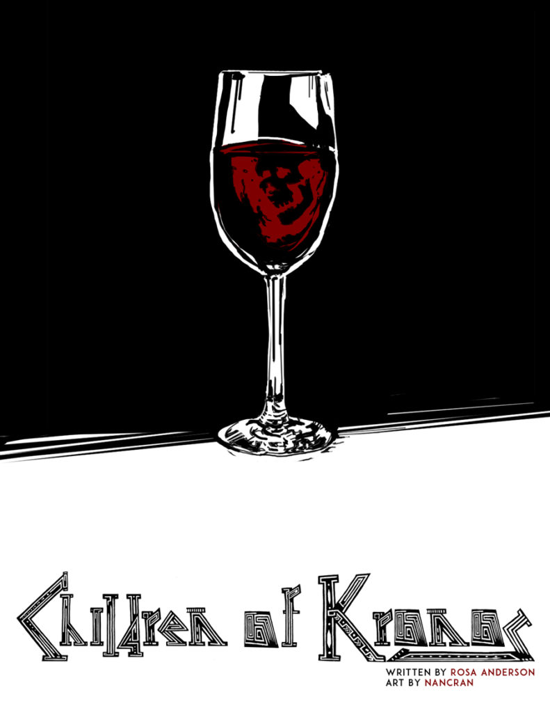 Children of Kronos web comic main cover