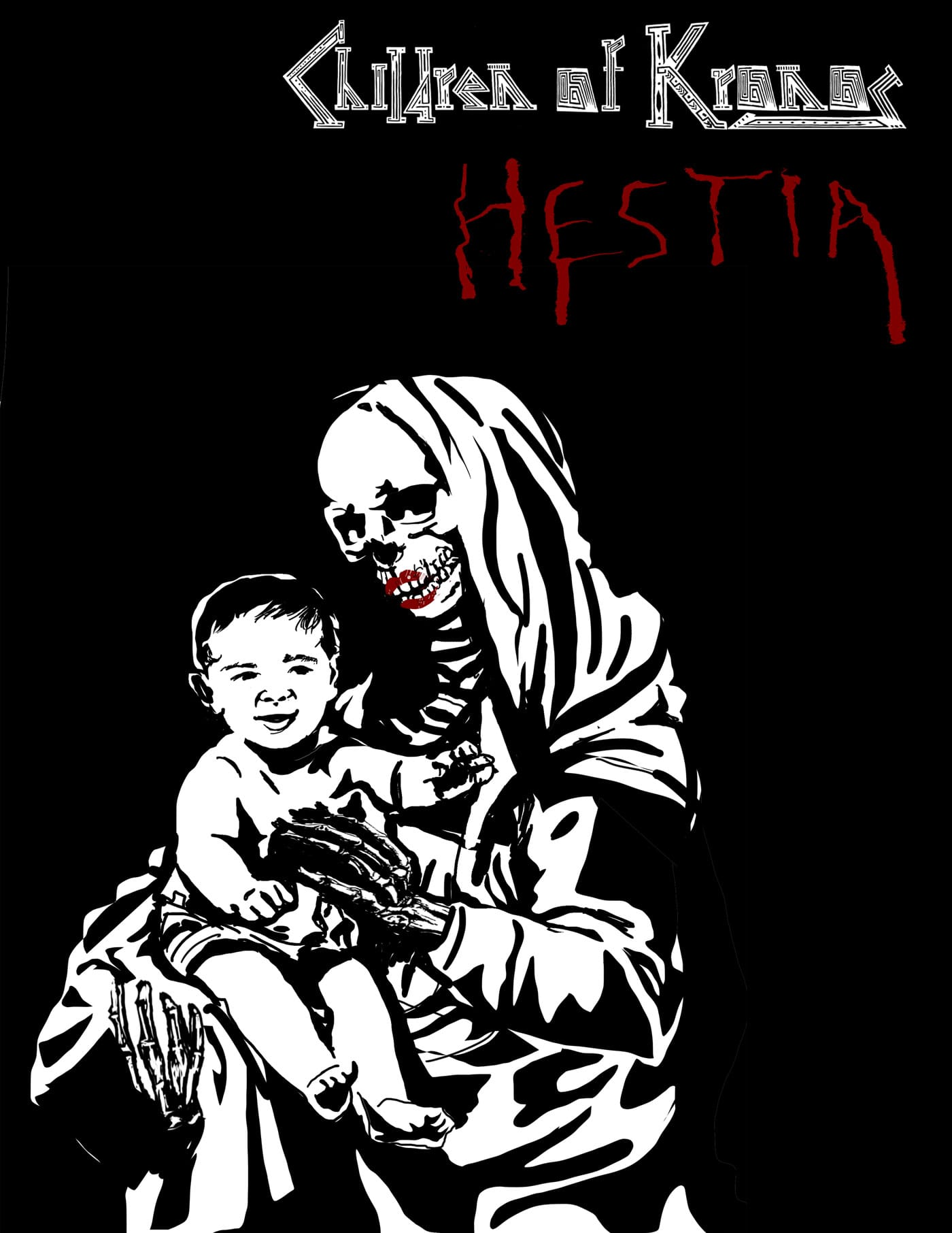 Childern Of Kronos Issue Hestia Cover
